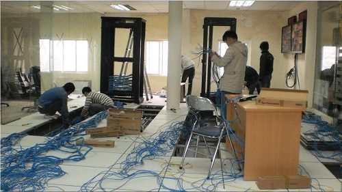 Thi công lắp đặt hệ thống mạng LAN